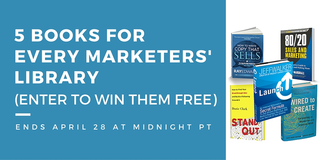 Win 5 marketing books