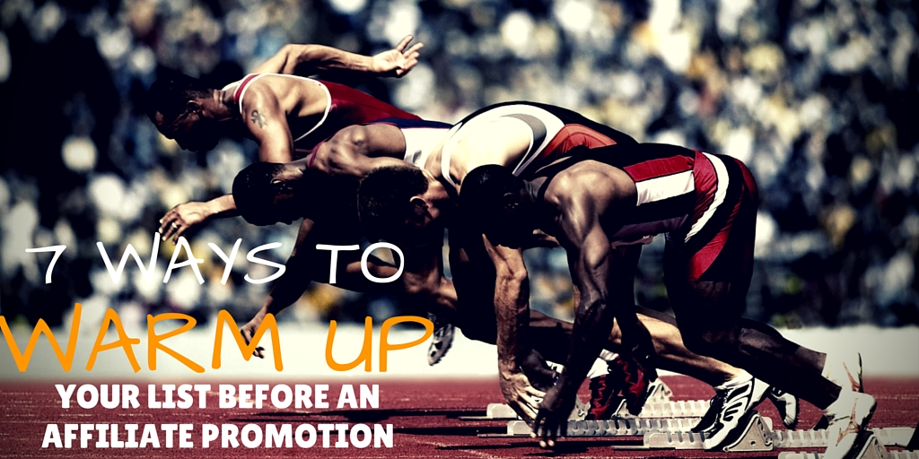 How to warm up email list for promotion