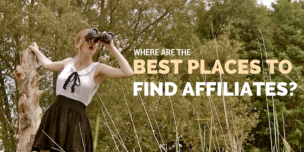 where can you find affiliates?