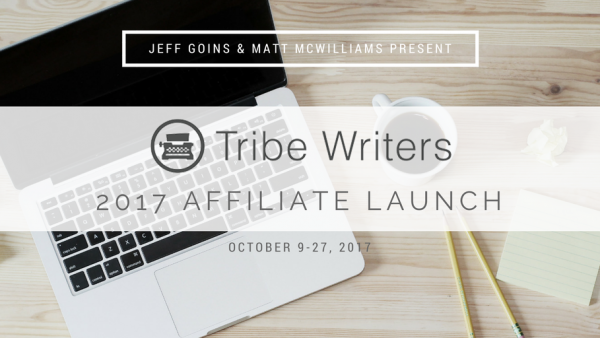 Jeff Goins' 2017 Tribe Writers Launch