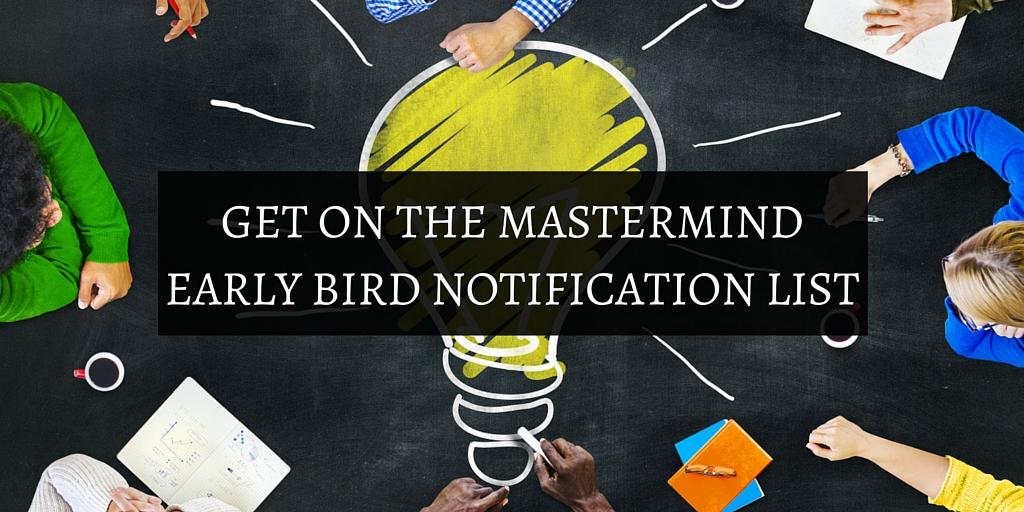 Affiliate marketing mastermind group