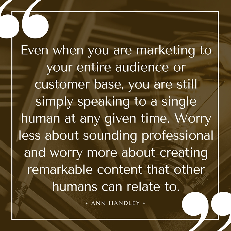Ann Handley Marketing Quote