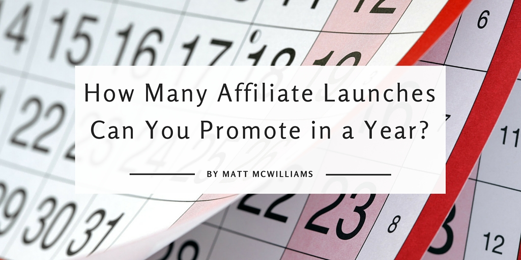 affiliate launches