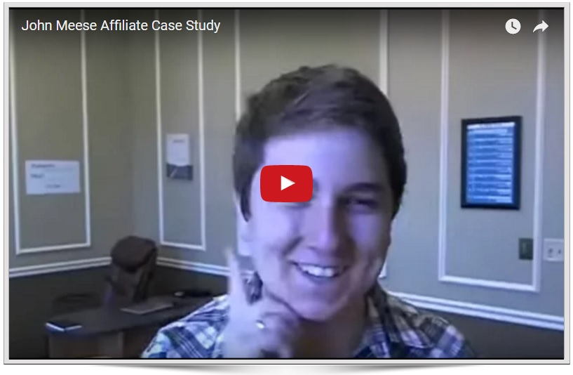 John Meese Case Study on Affiliate Marketing