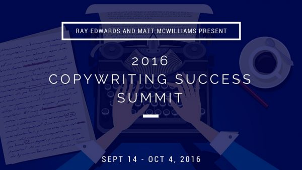 Copywriting Summit with Ray Edwards