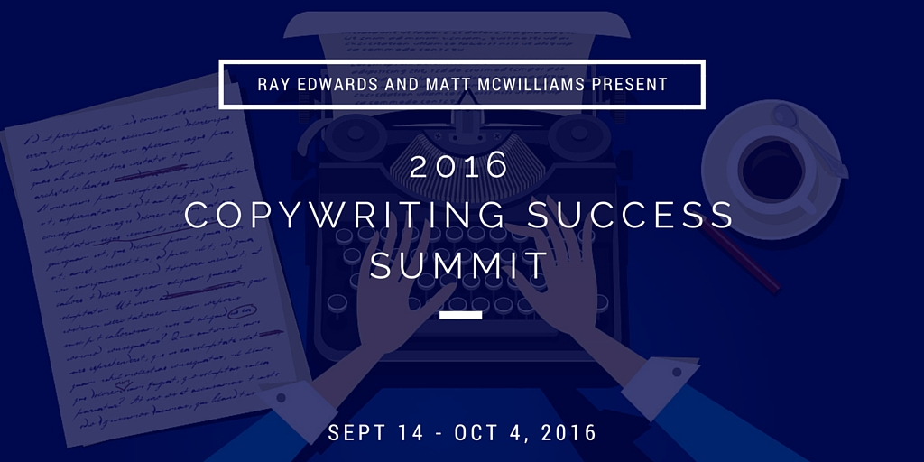 Copywriting Summit with Ray Edwards