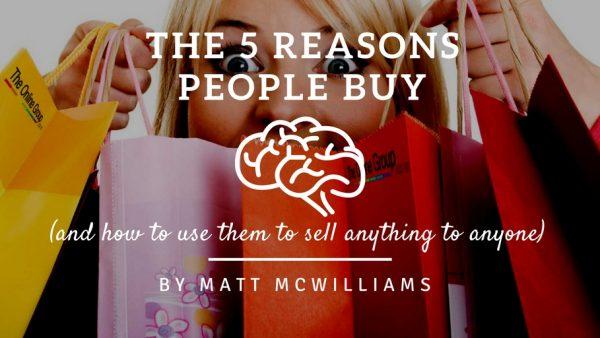 reasons why people buy online