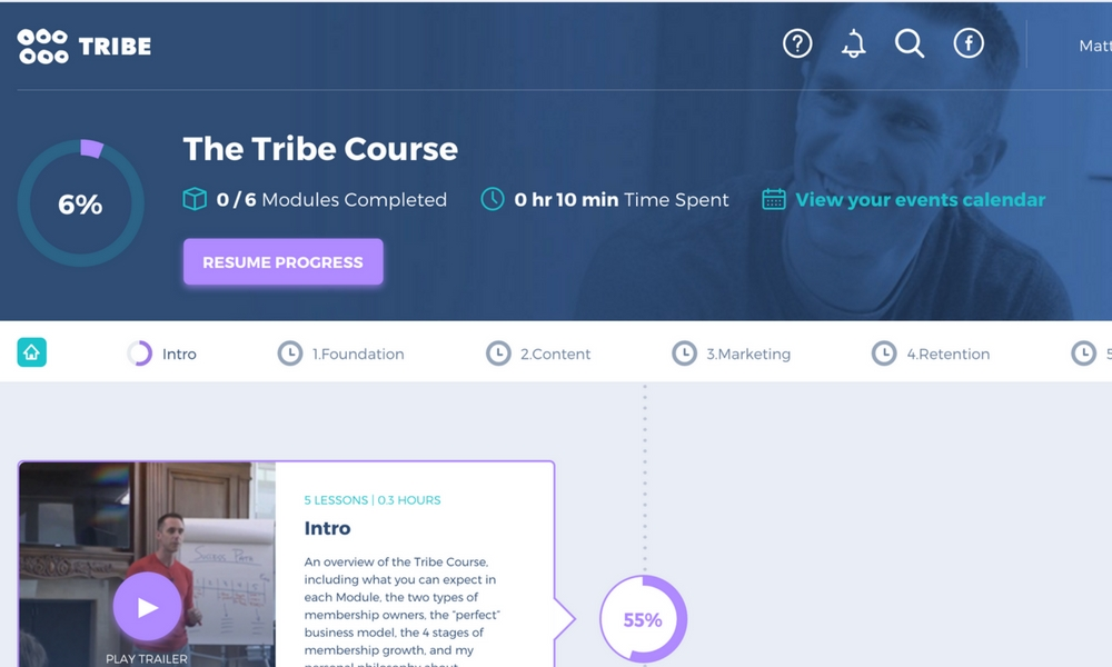 review of tribe course