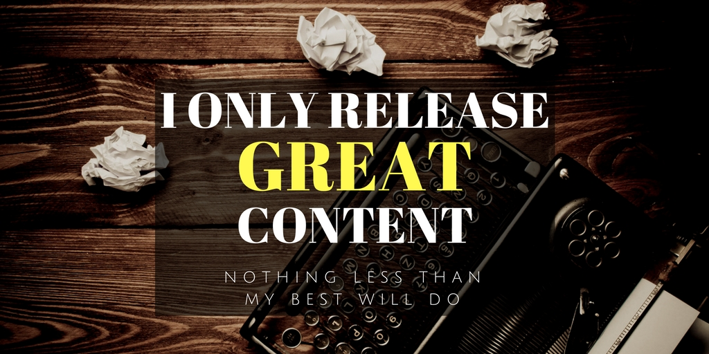 Chris Marlow on great content