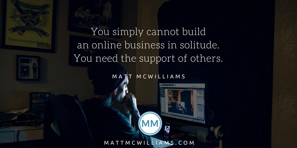 Online business solitude - Masterminds