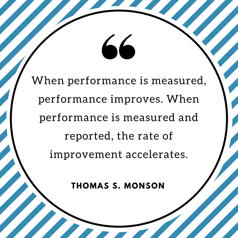 When performance is measured Thomas S. Monson