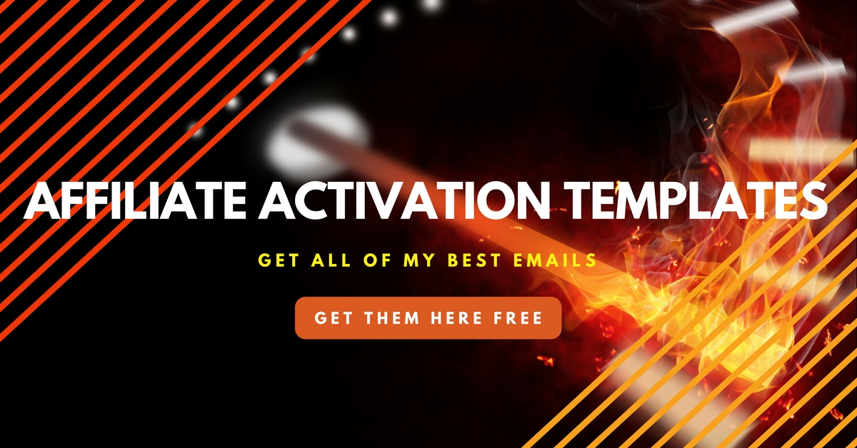 affiliate activation email templates