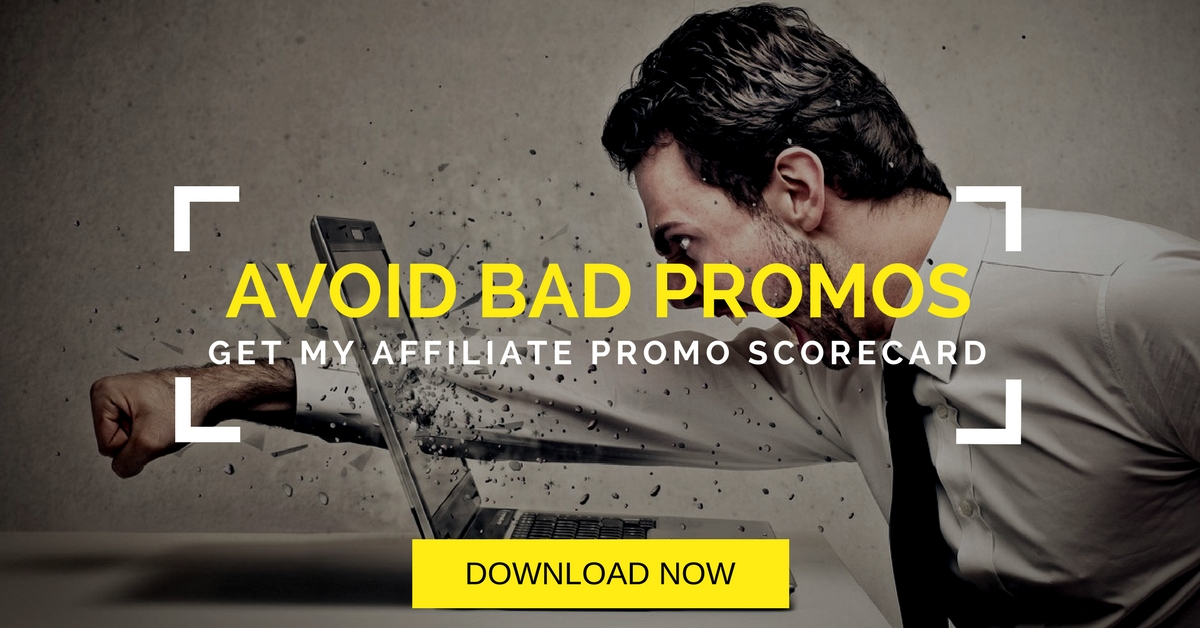 Avoid bad affiliate promotions