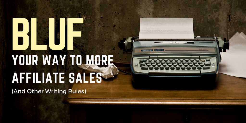 Writing rules for affiliate marketers