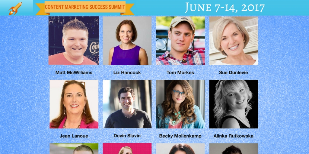 Content Marketing Success Summit affiliate program