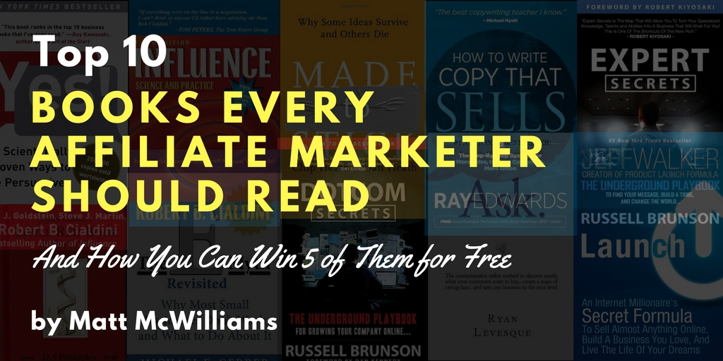 Books affiliate marketers should read