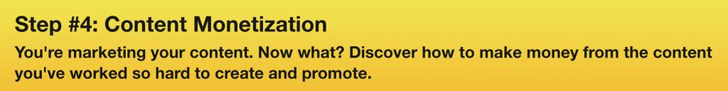 Marc Guberti's Content Marketing Success Summit - Monetization