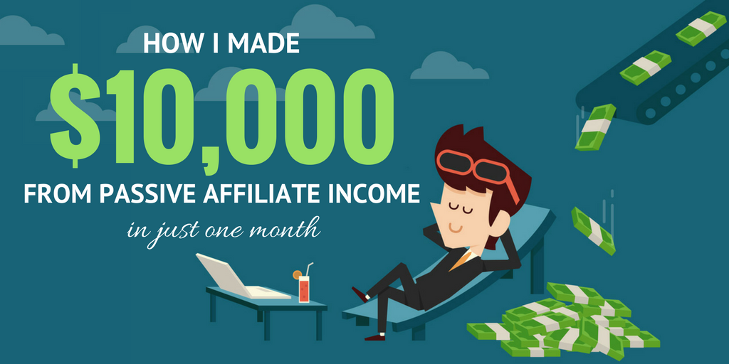 Affiliate passive income from a resource page