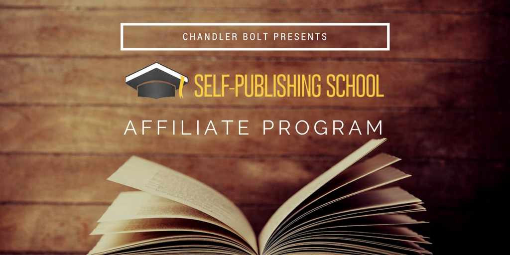 Self-publishing School with Chandler Bolt affiliate program