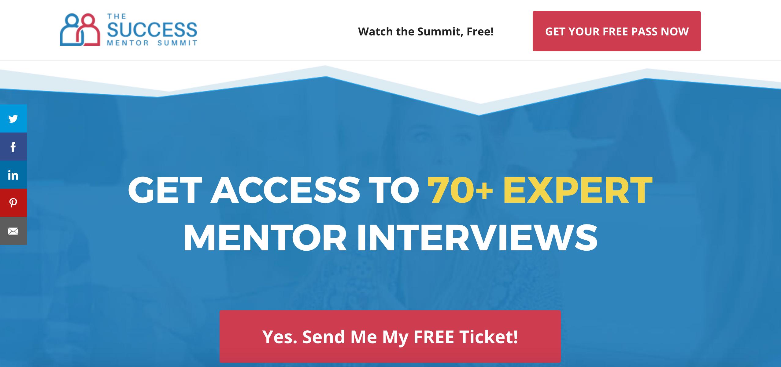 Claire Diaz-Ortiz's Success Mentoring Summit