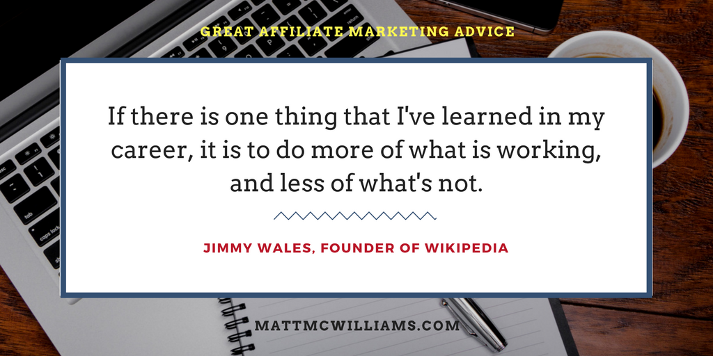 Jimmy Wales Quote on What is Working