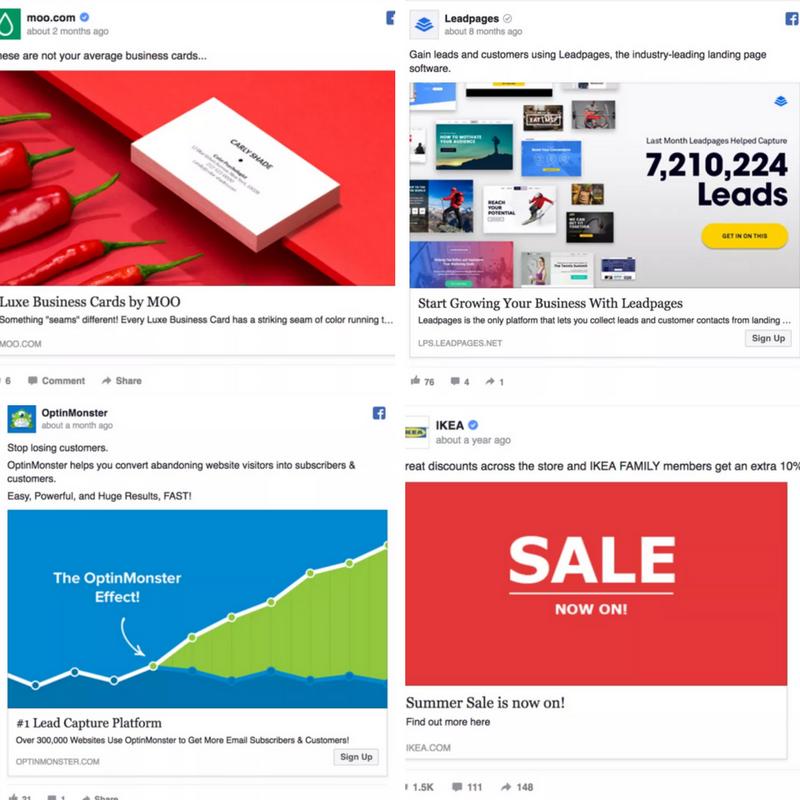 Ultimate Guide Facebook Ads for Affiliate Marketing - Sample Facebook Ads