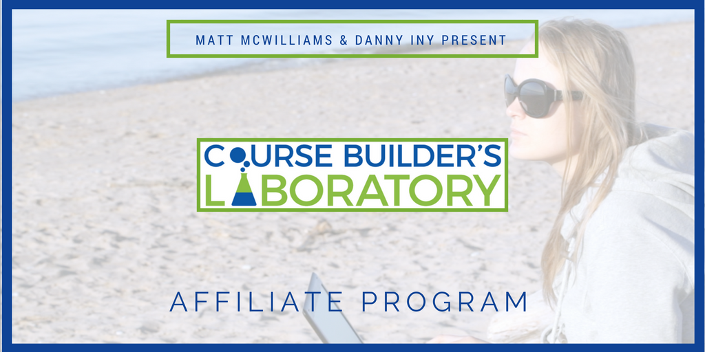 Danny Iny's Course Builder's Laboratory Affiliate Program
