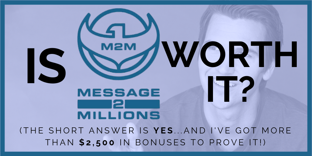 Review of Ted McGrath's Message to Millions course plus bonuses