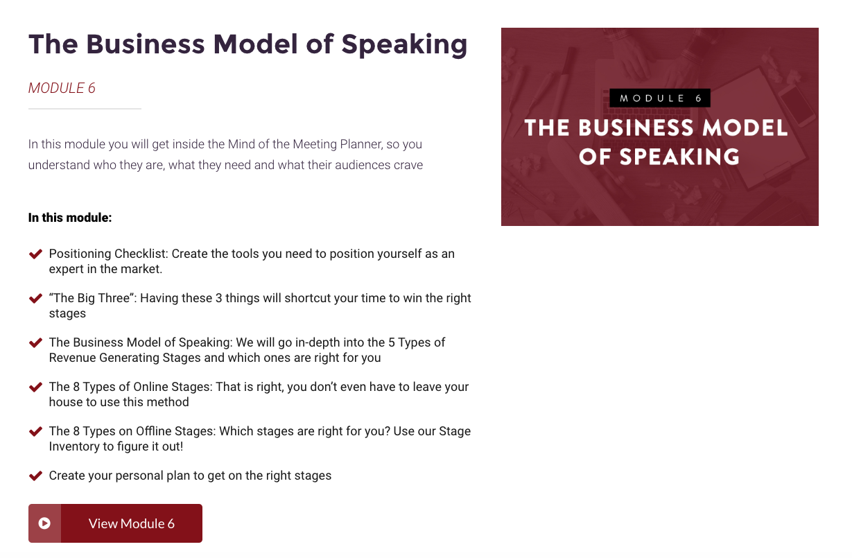 Review of Pete Vargas' speaking course Stage to Scale