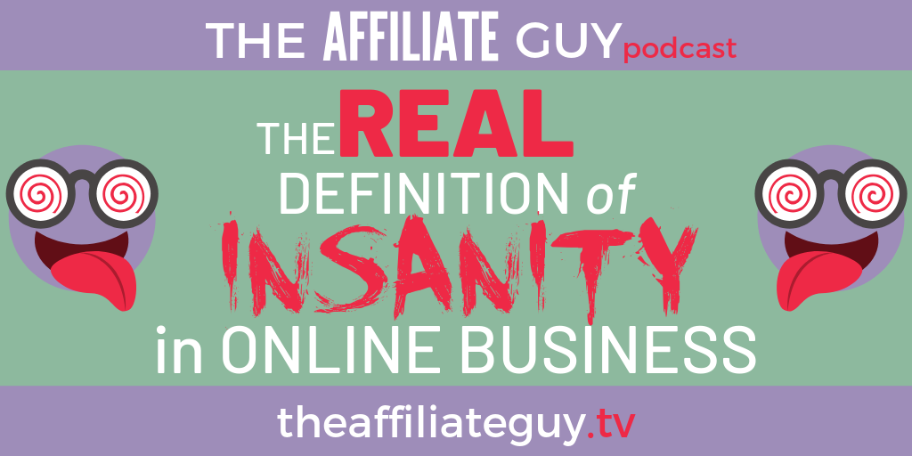 Podcast episode about building your business around affiliate marketing