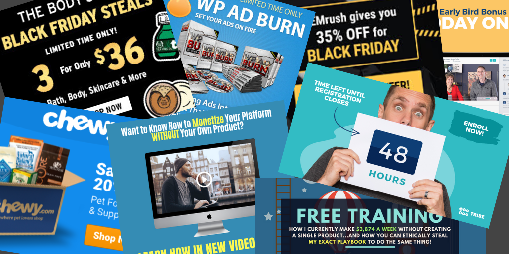 Banners and graphics for affiliate programs