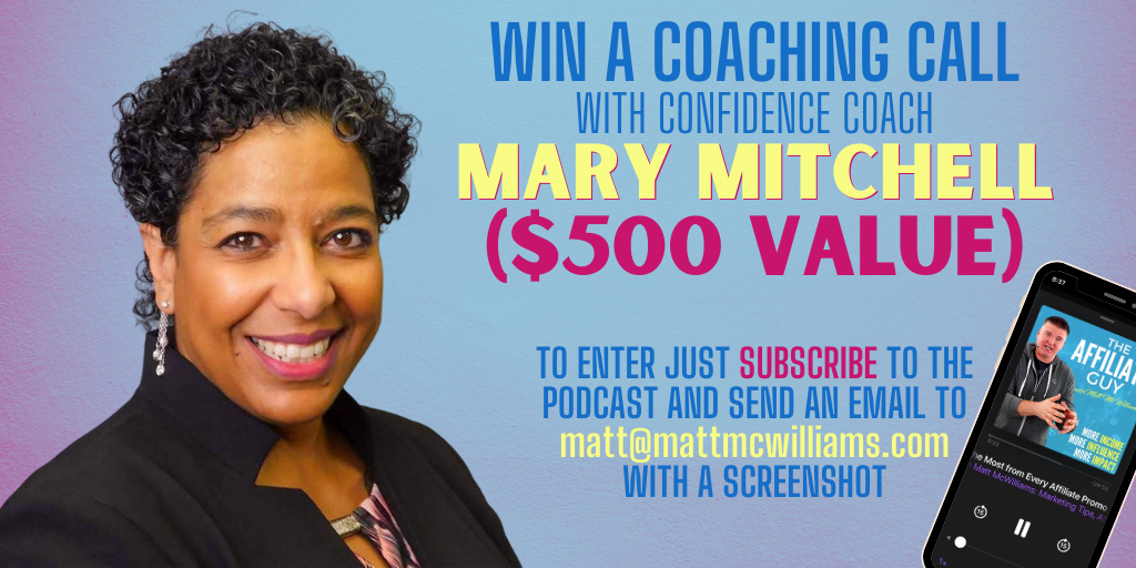 Mary Denis Mitchell Coaching Confidence